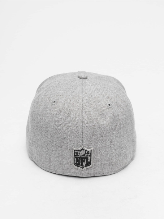 New Era Fitted Cap NFL Heather New England Patriots 59 Fifty grau