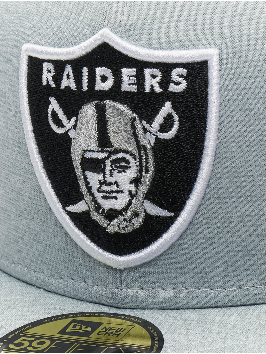 New Era Fitted Cap Shadow Tech Oakland Raiders 59Fifty grau