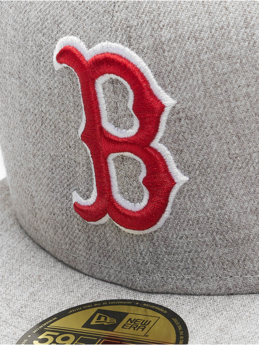 New Era Fitted Cap MLB Boston Red Sox 59Fifty grau