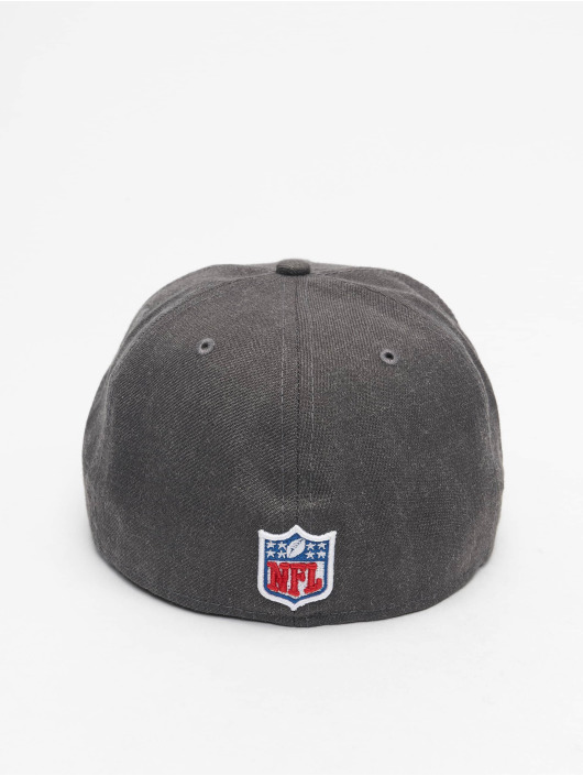 New Era Fitted Cap NFL New England Patriots Essential 59Fifty grau