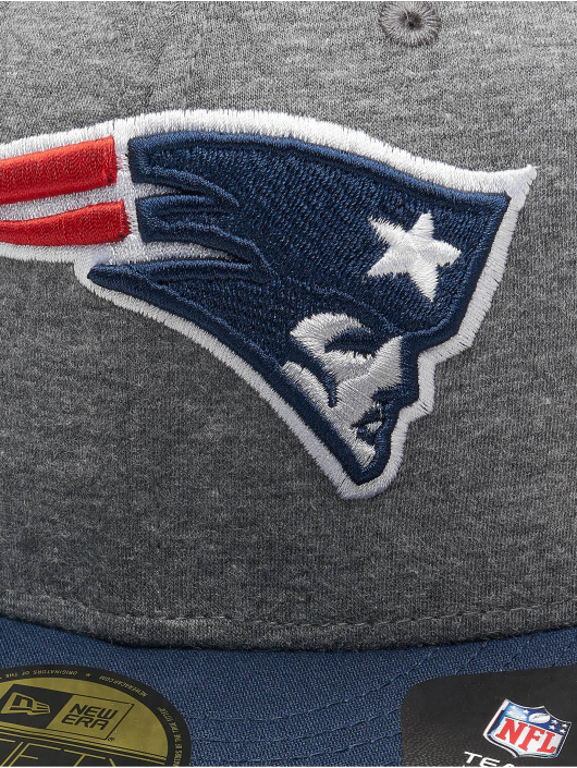 New Era Fitted Cap NFL New England Patriots Jersey Essential 59Fifty grau