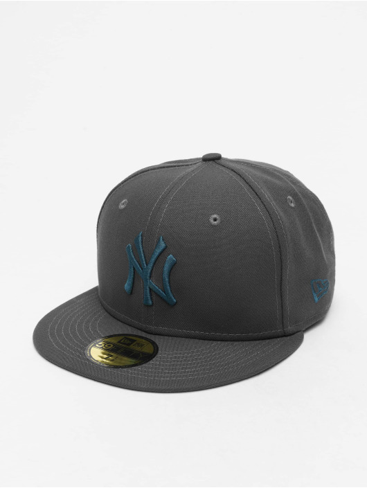 New Era Fitted Cap MLB NY Yankees  Essential 59Fifty grau