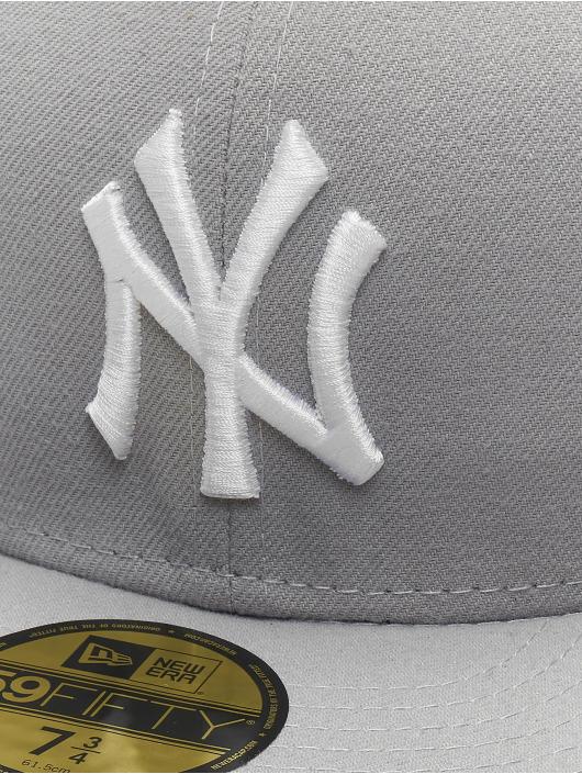 New Era Fitted Cap MLB Basic NY Yankees 59Fifty gray