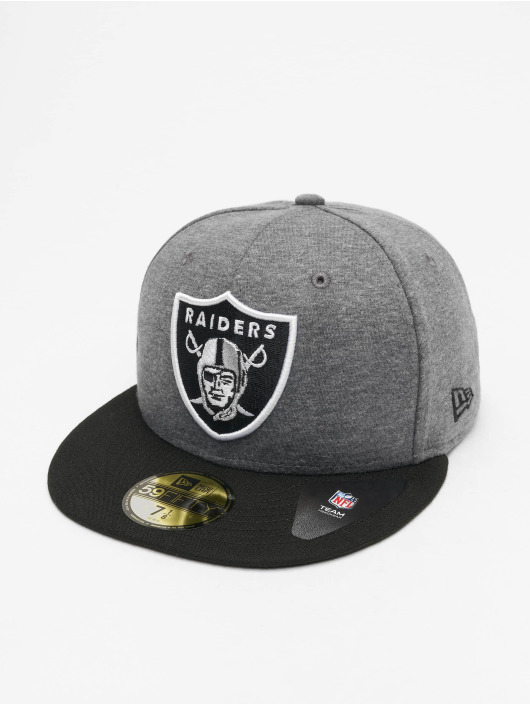 New Era Fitted Cap NFL Oakland Raiders Jersey Essential 59Fifty gray