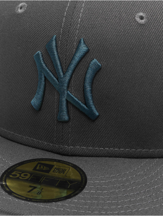 New Era Fitted Cap MLB NY Yankees  Essential 59Fifty gray