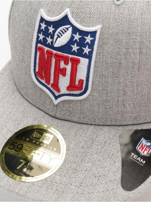 New Era Fitted Cap League Logo NFL Generic Logo 59Fifty grey