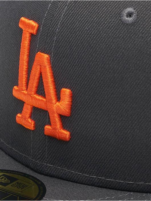 New Era Fitted Cap MLB LA Dodgers League Essential 59Fifty grijs