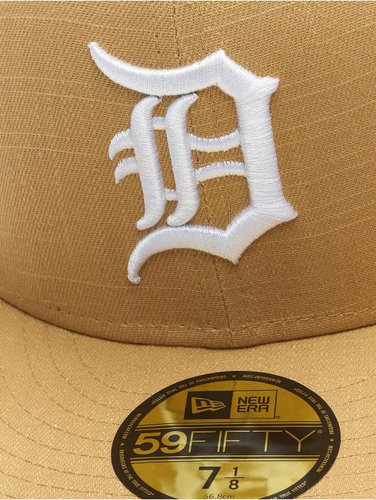 New Era Fitted Cap MLB Detroit grijs