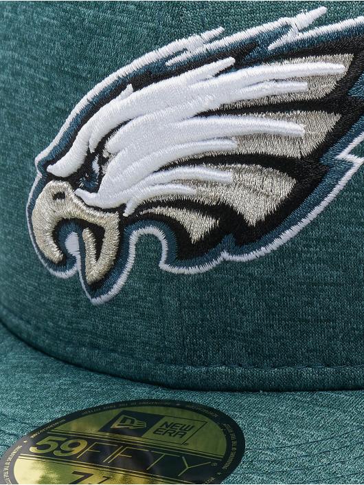 New Era Fitted Cap Shadow Tech Philadelphia Eagles 59Fifty groen