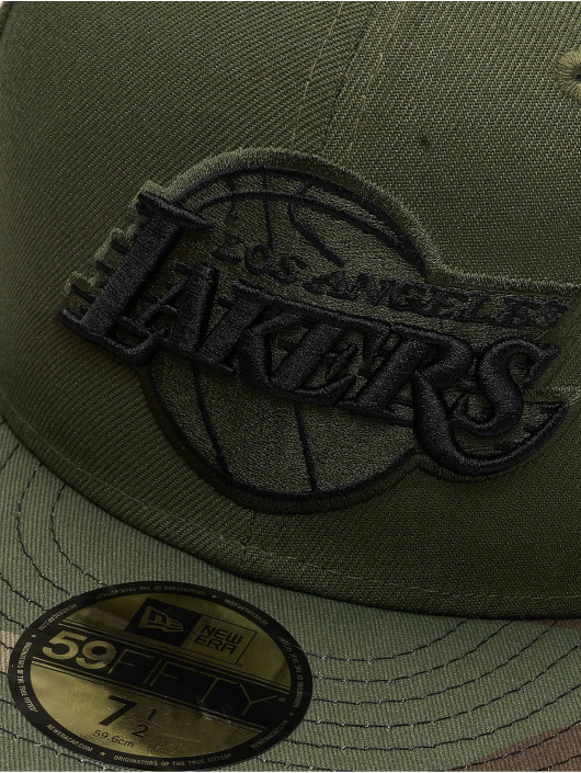 New Era Fitted Cap LA Lakers grün
