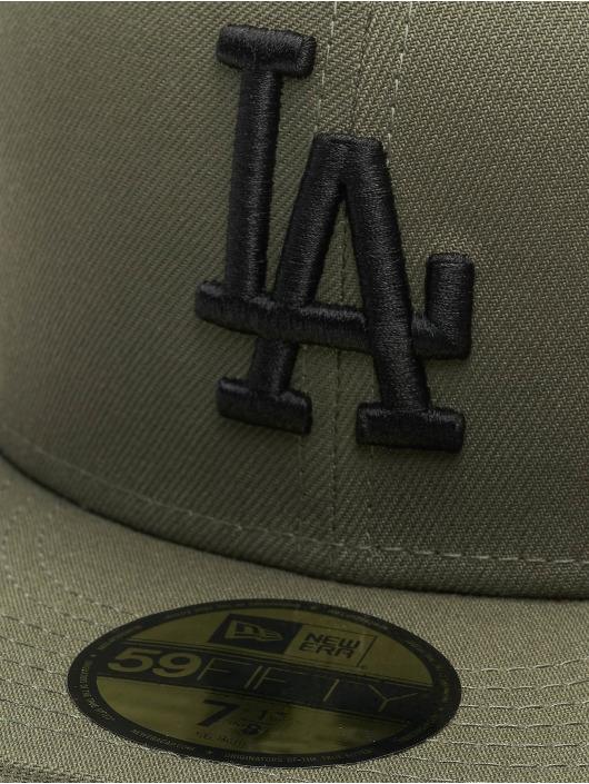 New Era Fitted Cap MLB LA Dodgers Essential 59Fifty grün
