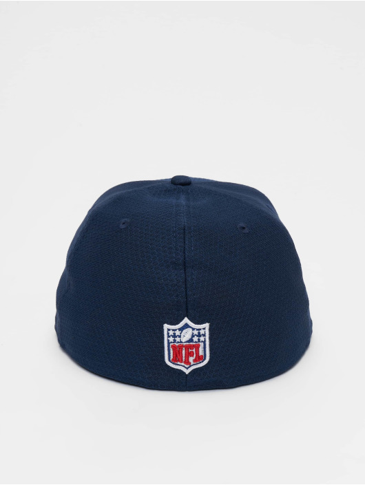 New Era Fitted Cap NFL New England Patriots Hex Era 59fifty modrá