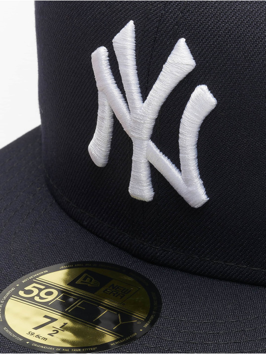 New Era Fitted Cap Acperf NY Yankees 59Fifty modrý
