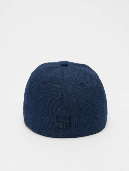 New Era Fitted Cap Poly Tone 59fifty modrý