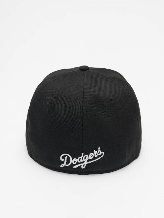 New Era Fitted Cap Era MLB Los Angeles Dodgers Sugar Skull 59Fifty nero