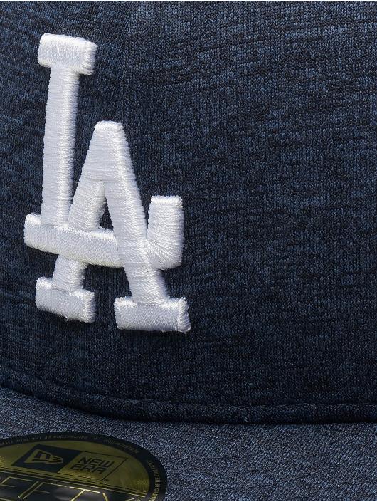 New Era Fitted Cap MLB LA Dodgers Shadow Tech 59fifty niebieski