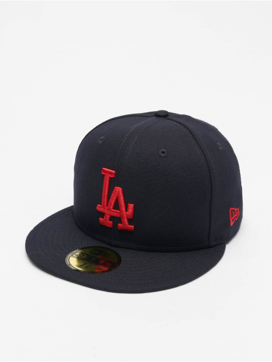 New Era Fitted Cap MLB LA Dodgers League Essential niebieski