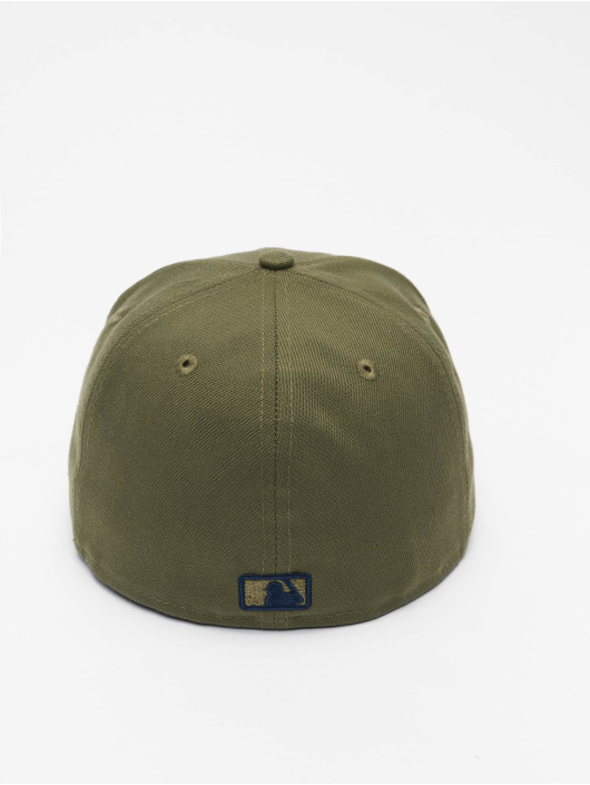 New Era Fitted Cap MLB Los Angeles Dodgers League Essential 59Fifty olive