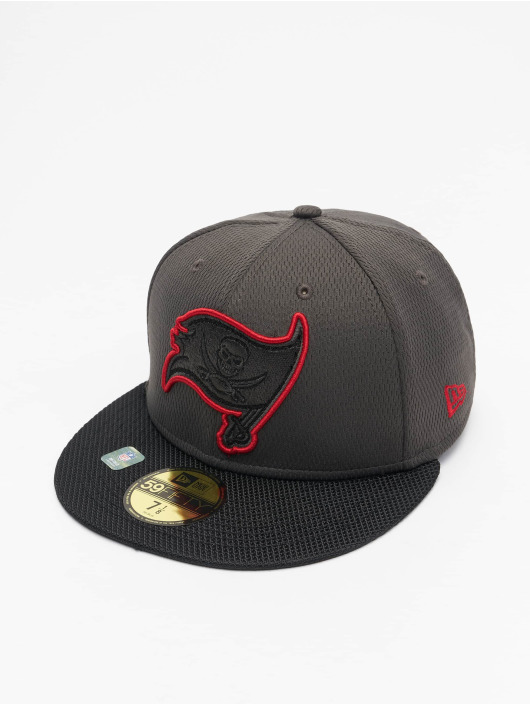 New Era Fitted Cap NFL Tampa Bay Buccaneers Sideline Road 59Fifty rød