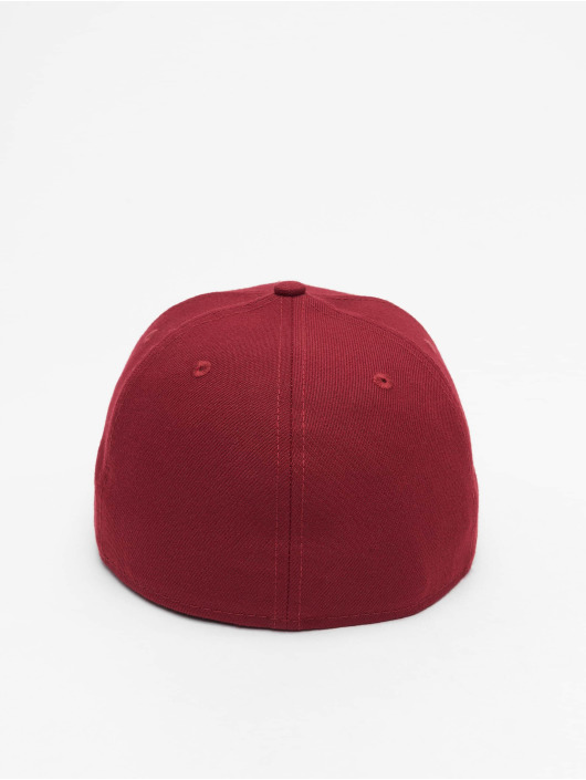 New Era Fitted Cap Patch 59Fifty red