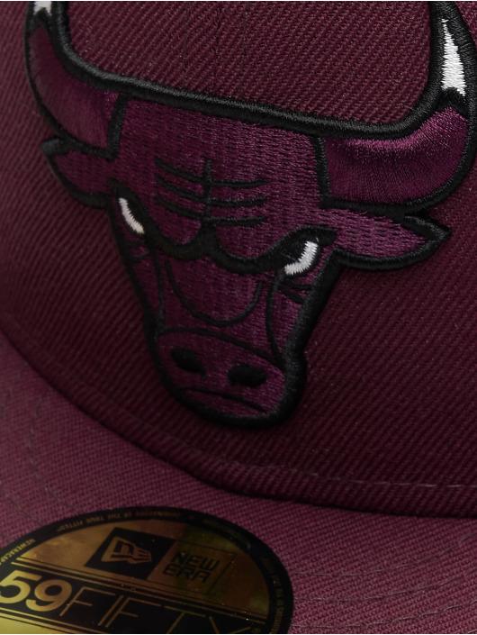 New Era Fitted Cap Chicago Bulls rot