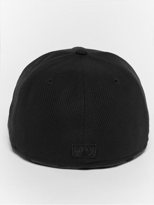 New Era Fitted Cap Diamond NY Yankees 59Fifty schwarz