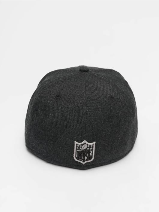 New Era Fitted Cap NFL Heather Oakland Raiders 59 Fifty schwarz