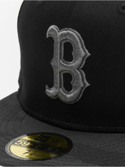 New Era Fitted Cap MLB Camo Essential Bosten Red Sox schwarz