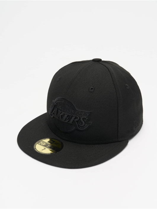 New Era Fitted Cap NBA LA Lakers 59Fifty schwarz