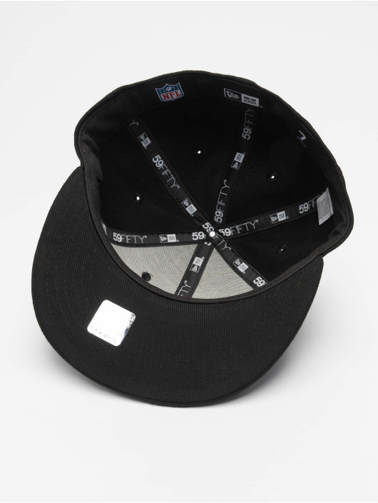 New Era Fitted Cap NFL New England Patriots 59Fifty schwarz