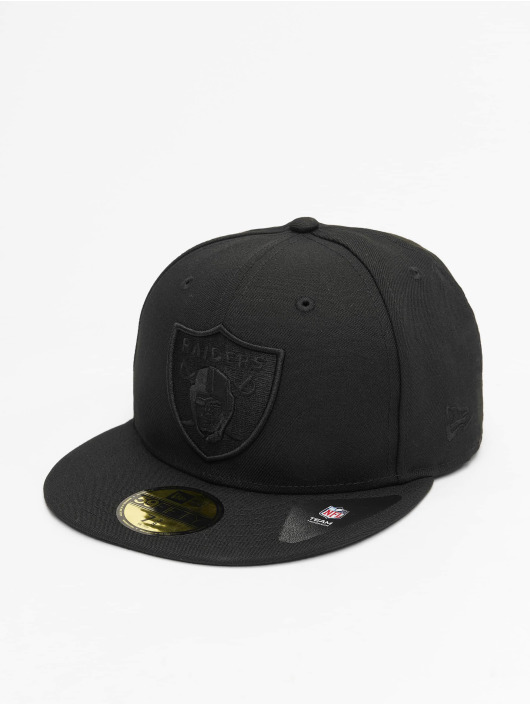 New Era Fitted Cap NFL Oakland Raiders Tonal 59fifty schwarz