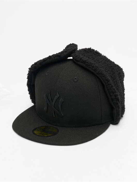 New Era Fitted Cap MLB NY Yankees League Esential Dogear schwarz