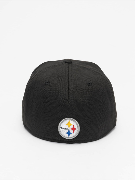 New Era Fitted Cap NFL Pittsburgh Steelers 59Fifty schwarz