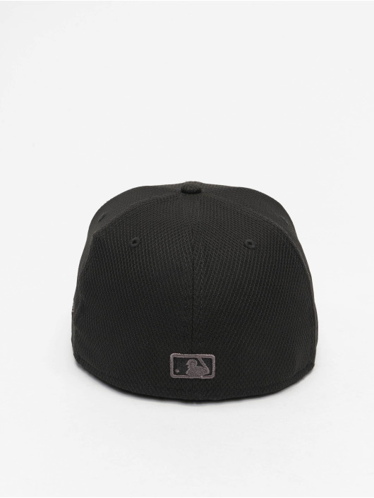 New Era Fitted Cap MLB LA Dodgers Diamond Era Essential 59Fifty schwarz