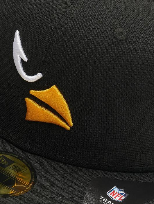 New Era Fitted Cap NFL Arizona Cardinals Team Tonal 59Fifty schwarz