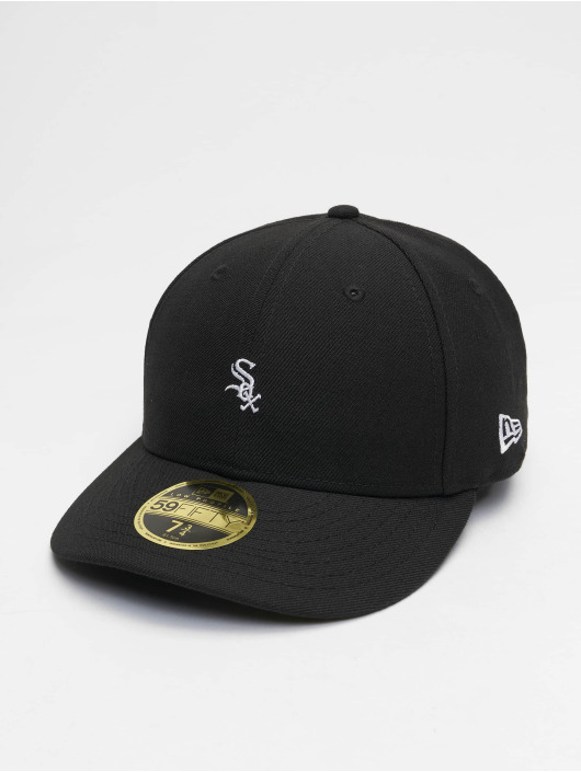 New Era Fitted Cap MLB Chicago White Sox Mini Logo 59Fifty schwarz