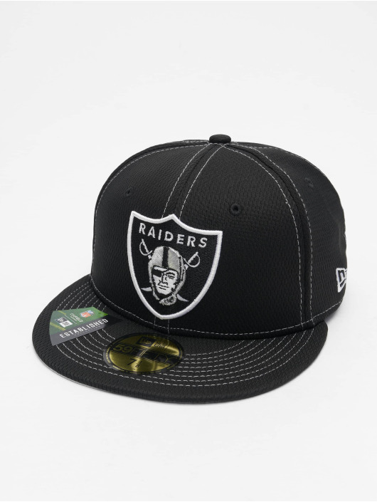 New Era Fitted Cap 59Fifty Onfield 19 SL RD Oakland Raiders schwarz