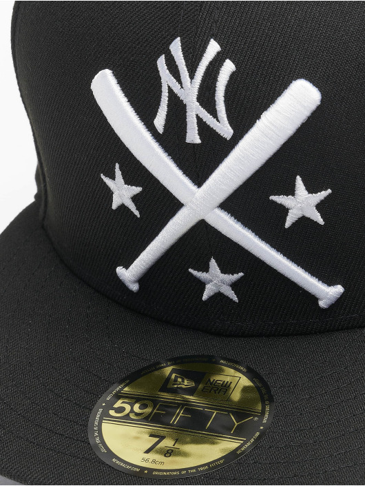 New Era Fitted Cap Mlb Properties New York Yankees 59fifty schwarz