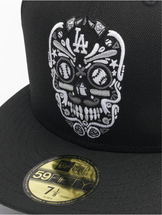 New Era Fitted Cap Mlb Properties Los Angeles Dodgers schwarz
