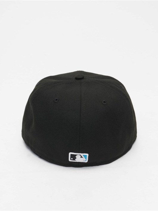 New Era Fitted Cap MLB Miami Marlins ACPERF schwarz