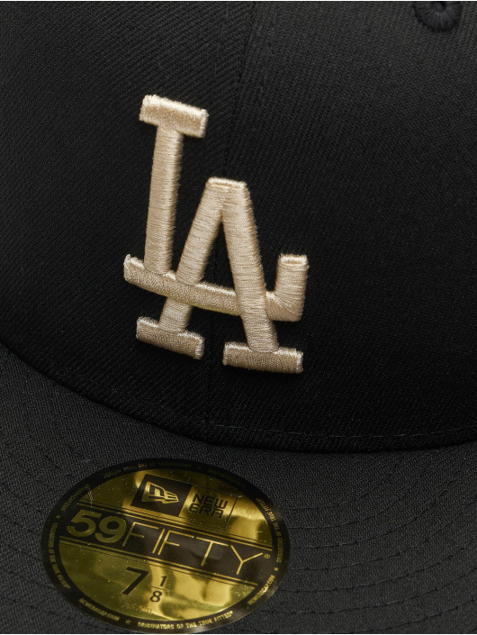 New Era Fitted Cap MLB Los Angeles Dodgers League Essential 59Fifty schwarz