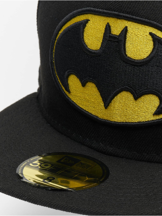 New Era Fitted Cap Character Basic Batman 59Fifty svart