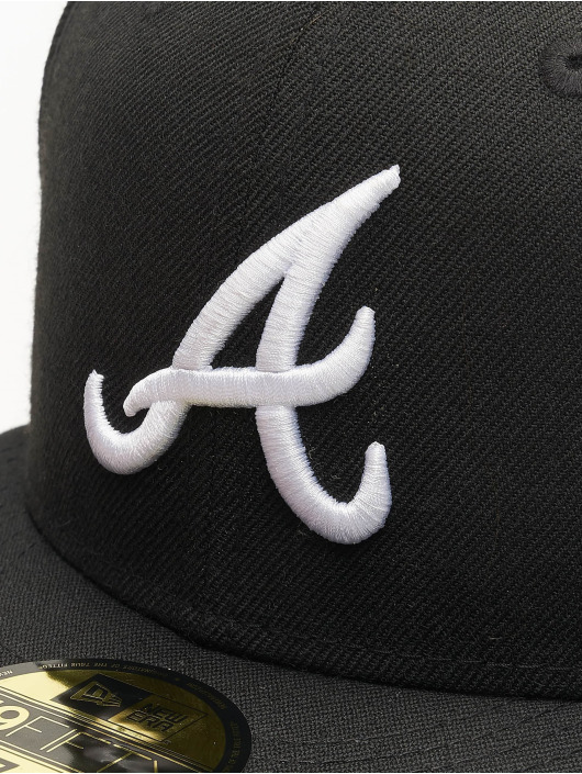 New Era Fitted Cap MLB Basic Atlanta 59Fifty svart