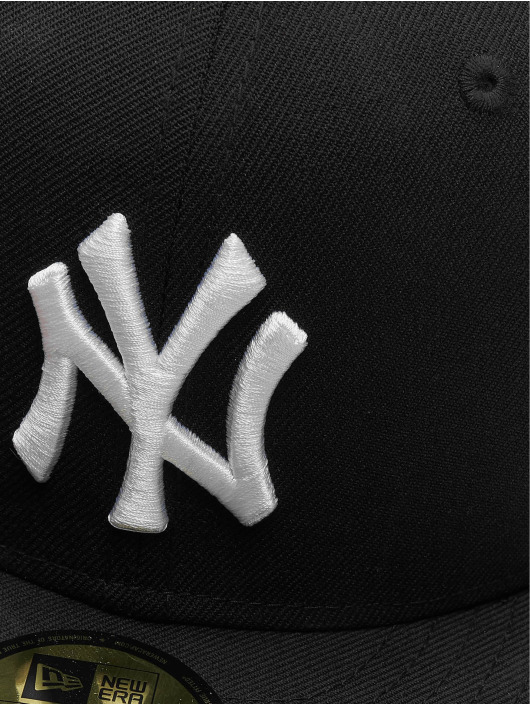 New Era Fitted Cap MLB Basic NY Yankees svart