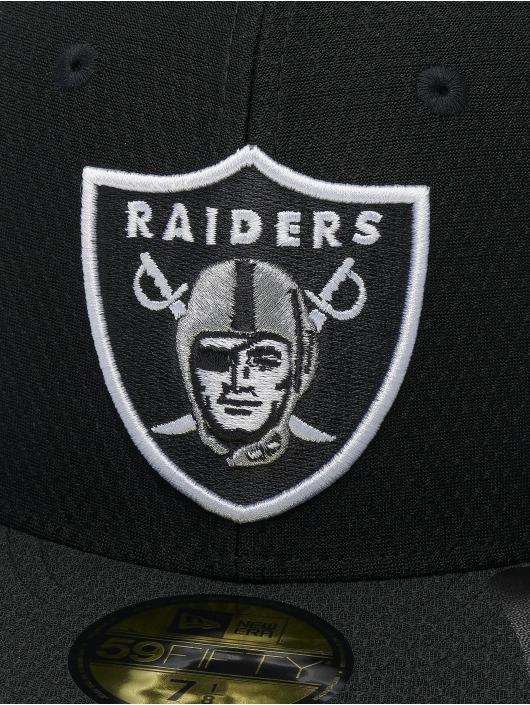 New Era Fitted Cap NFL Oakland Raiders Hex Era 59fifty svart
