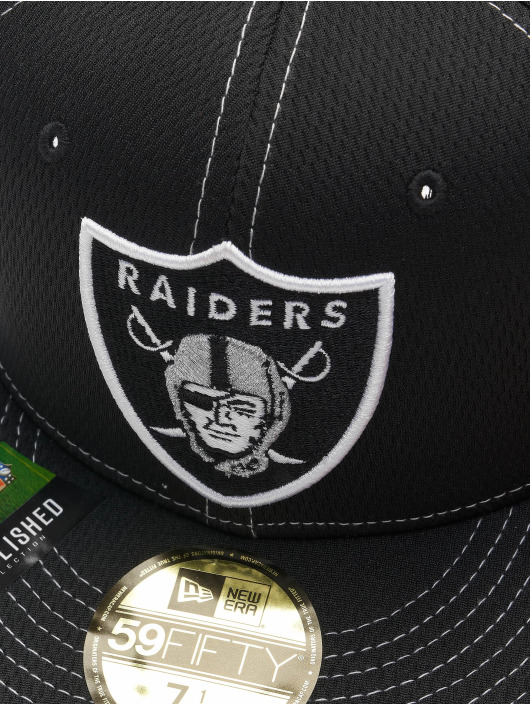 New Era Fitted Cap 59Fifty Onfield 19 SL RD Oakland Raiders svart