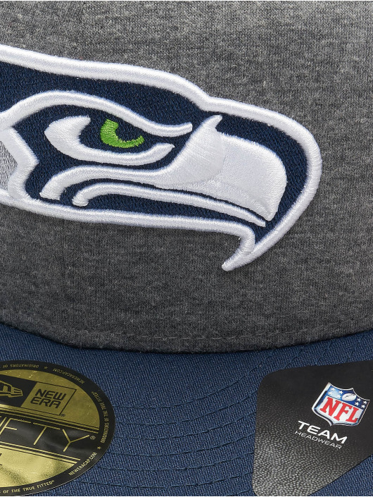 New Era Fitted Cap NFL Seattle Seahawks Jersey Essential 59Fifty szary