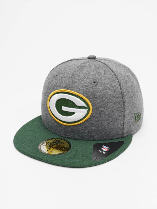 New Era Fitted Cap Jersey NFL Green Bay Packers Essential 59Fifty szary