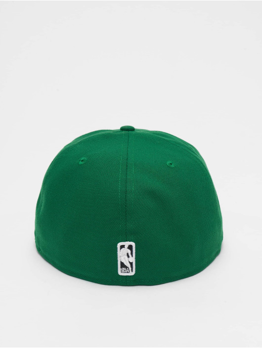 New Era Fitted Cap NBA Basic Boston Celtics 59Fifty zelená