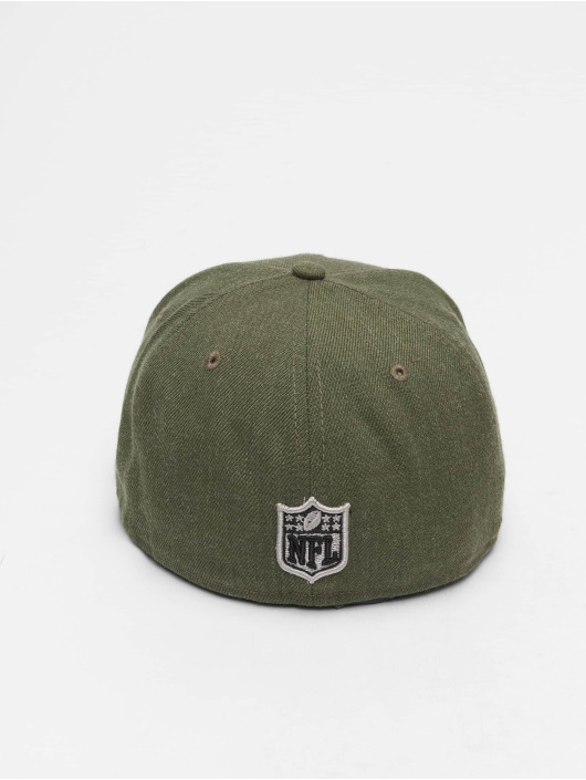New Era Fitted Cap NFL Heather Seattle Seahawks 59 Fifty zelená